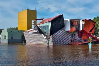 Groninger museum, hedendaagse kunt.